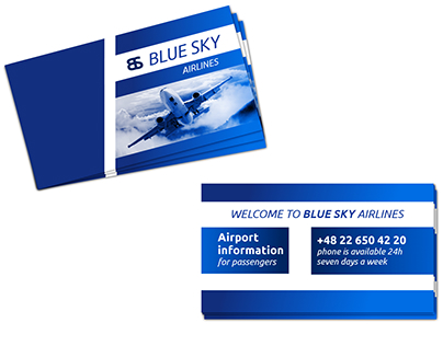 Bluesky - business card