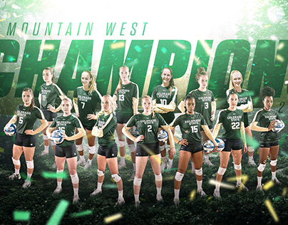 2018 Colorado State Volleyball Graphics Package