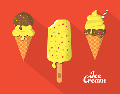 Various Ice Cream Collection