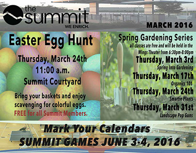 Summit Newsletter Cover - Mar 2016