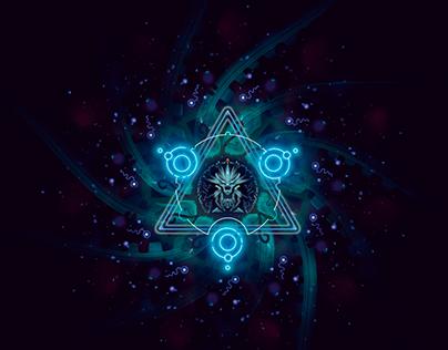 Cosmic mandals
