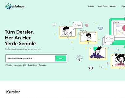 Anladinsen - Online Learning