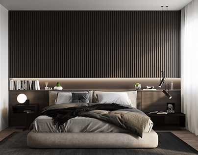 Modern Bedroom Design In France