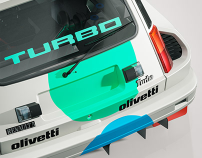 Livery Design - Renault 5 Crystal Ball