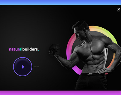 Natural builders x landing page