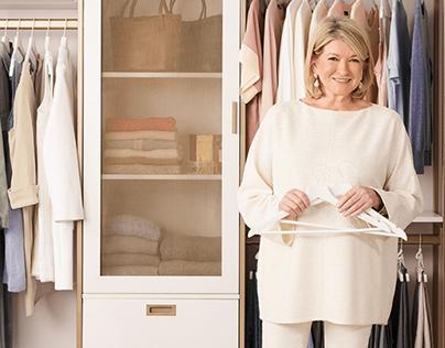 Martha Stewart + California Closets