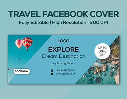 Travel Facebook Cover Design