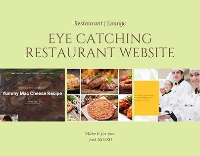 Restaurant Website by WordPress