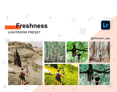 Freshness - Lightroom Presets - Filteroom app