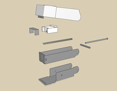 Stapler - Exploded View
