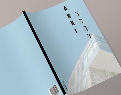 Magazine Concept: ARKITEKT