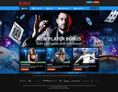 Online gambling website (UK)