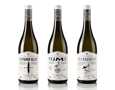 Karipidis White Wines Packaging