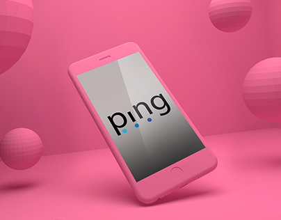 ping- logo design #thirtylogos #day4