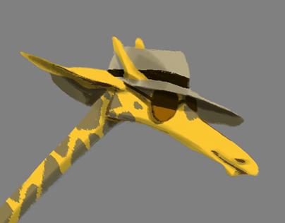 Giraffe Cop