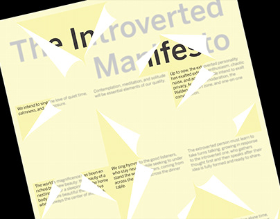 The Introverted Manifesto