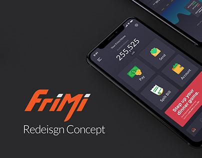Frimi Redesign Concept