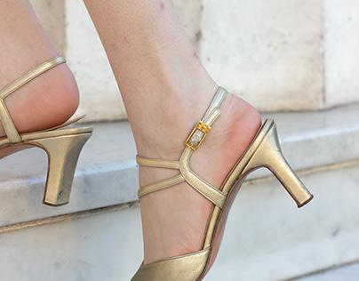 Fotografía de calzado - contenido para redes sociales