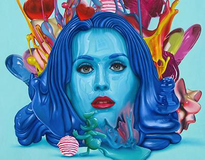 Katy - oil/canvas