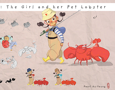 The Girl and Her Pet Lobster