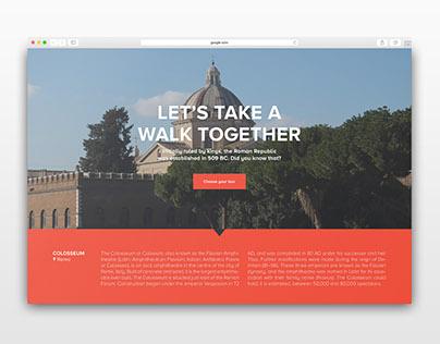 Visitor Center - Brand identity