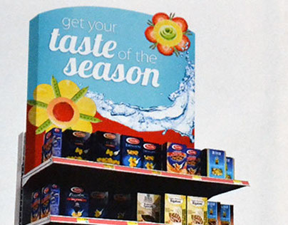 Spring POP and signage for Raley's grocery stores