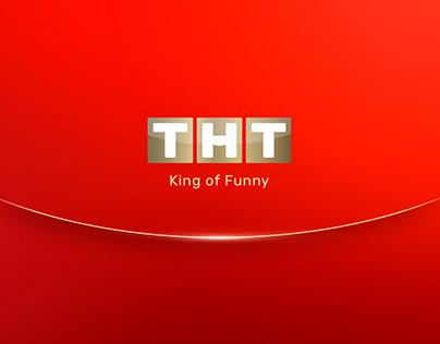 THT/TNT Network Russia — Rebrand