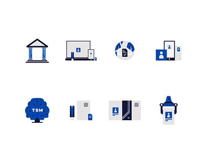 Illustrative icon set