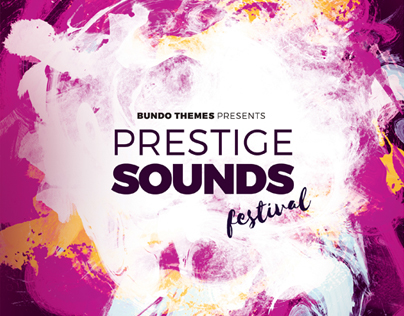 Prestige Sound Festival | Flyer Template