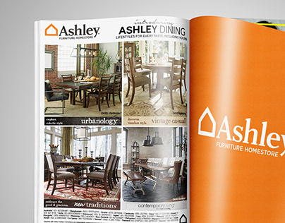 AirAsia Magazine Ad Ashley Furniture HomeStore Asia