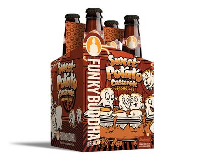 Sweet Potato Casserole - Funky Buddha Brewery