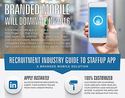Staffing Mobile App Brochure