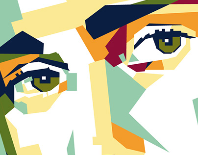 Justin Bieber - WPAP Art Portrait