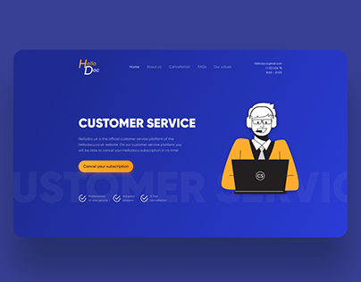 Concept for Customer Service
