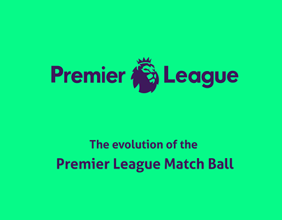 The Evolution of the Premier League Football