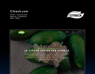 Citreck.com | Citron Caviar