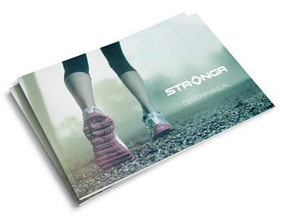 Strongr - Logo/brand manual