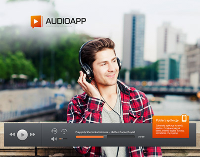 AudioApp Website