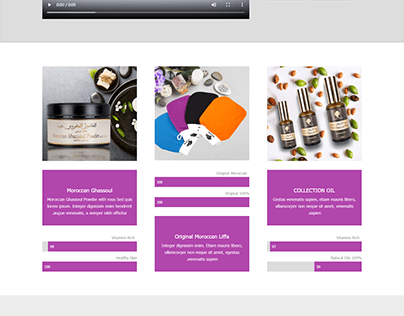 Photographie de produits, conception et programmation