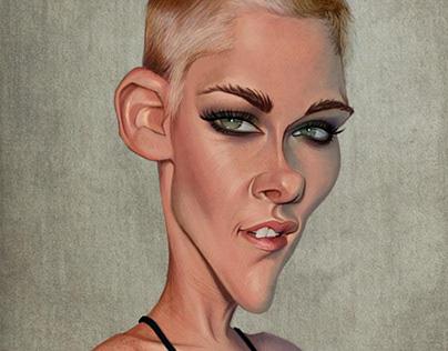Kristen Stewart - caricature