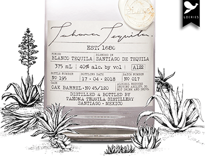 Tahona- Tequila Packaging
