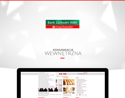 Bank Zachodni WBK - komunikacja wewnętrzna
