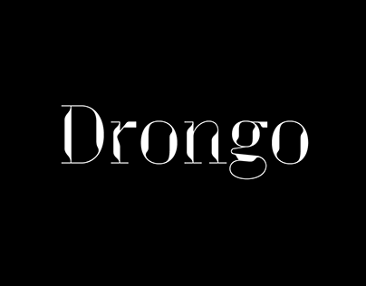 Drongo Font