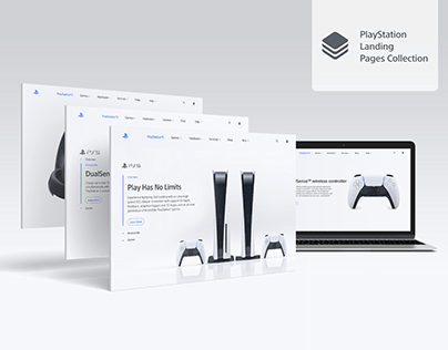 PS5 Landing Pages and Redesigns
