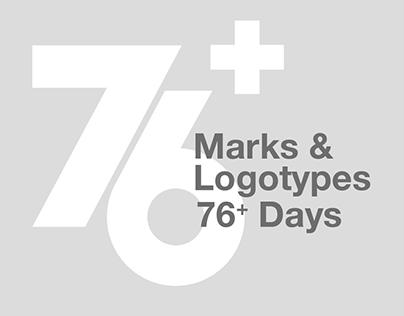 76 Days / Marks & Logotypes