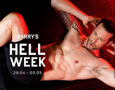 Barry's Hellweek campaign 2019