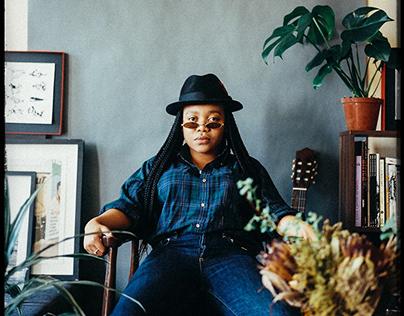 Studio Black Aesthete Portraits - Owethu Makhathini