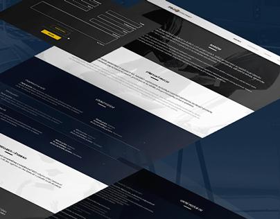 Web design - PSJ Hydrotranzit