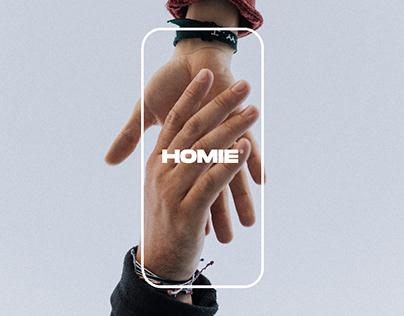 Homie App & Web UX - UI Design