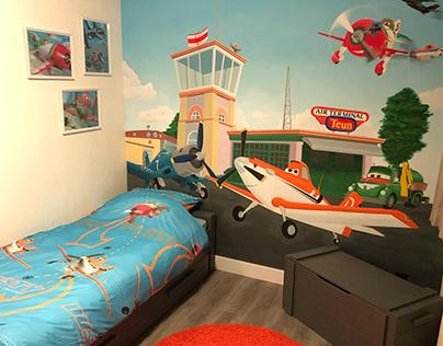 Planes Mural